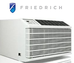Friedrich WE16C33 Through-the-Wall Air Conditioner 15000BTU 230 VOLTS With 11,000 BTU Electric Heat