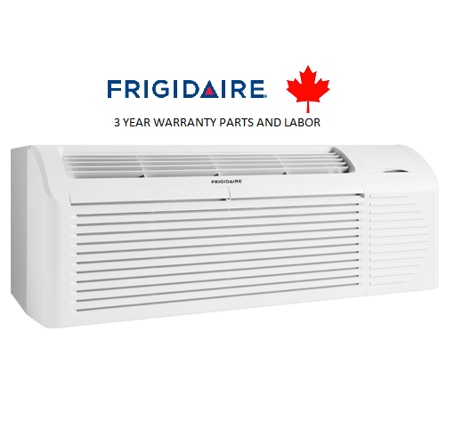 Frigidaire FRP77PTV2R 7,700 btu PTAC unit with Heat Pump and Back-up Electric Heater