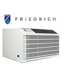 Friedrich WE10C33 Through-the-Wall Air Conditioner 9500BTU 230 VOLTS With 11,000 BTU Electric Heat
