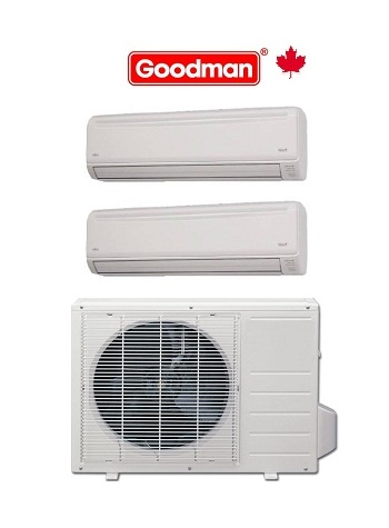 MST18E21MCAA HEAT PUMP OUTDOOR UNIT 18,000 BTU INDOOR UNIT 1 X 9,000 BTU 1 X 12,000 BTU. 21 SEER